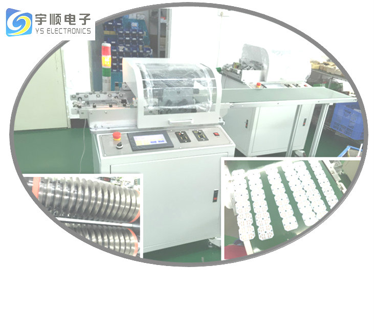 Our component height near to V-groove is 15 mm PCB de-panelling machine